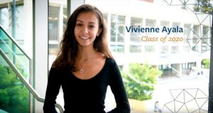 Headshot of Vivienne Ayala, UC Berkeley Class of 2020