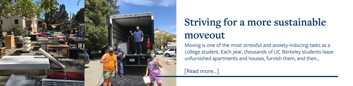 striving for a more sustainable move out