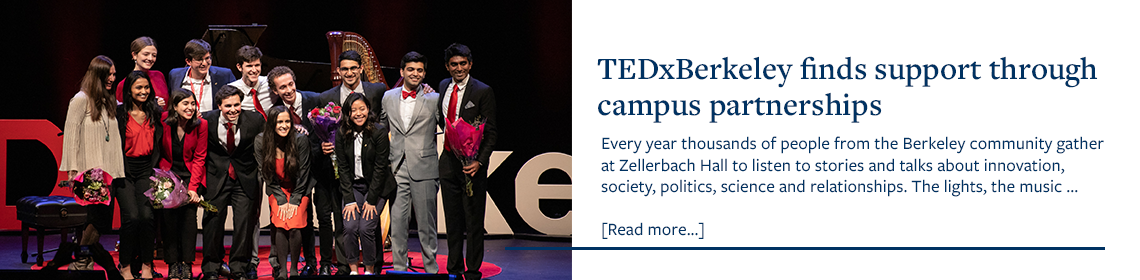 TEDxBerkeley finds support through campus partnerships