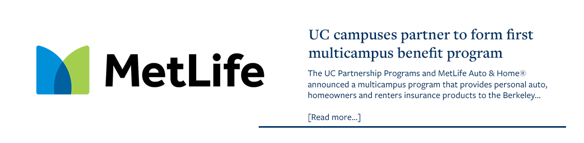 UC campus partner to form first multicampus benefit program