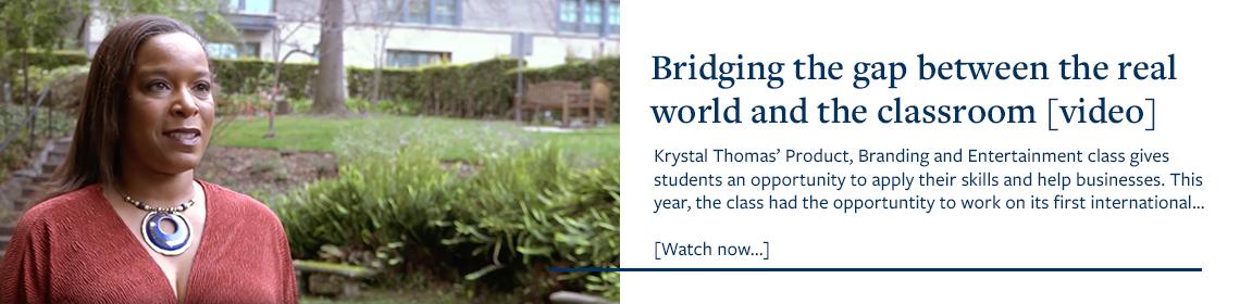 UBPS Video Spotlight: Krystal Thomas, Haas Faculty