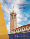 UBPS 2020-2019 Impact Report cover featuring campus Campanile