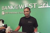Emeka Eze, a Bank of the West employee