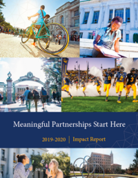 FY20 Impact Report Cover