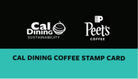 Front design of the Cal Dining Refill Card
