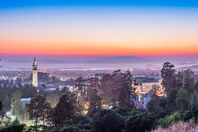 Sunset of Berkeley