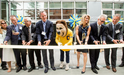Jacobs Hall Ribbon Cutting Ceremony